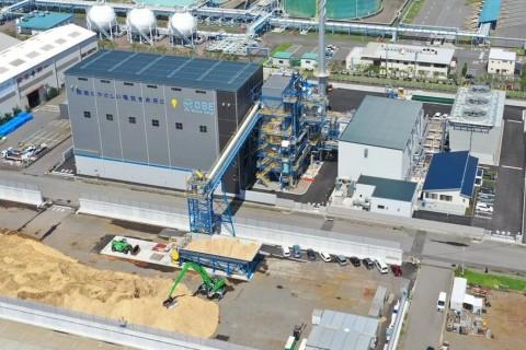 大分バイオマス発電所 営業運転開始